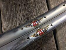 CERCHI NISI MONCALIERI 36H TUBULAR RIMS RIM NOS 700C MADE ITALY VINTAGE BICYCLE