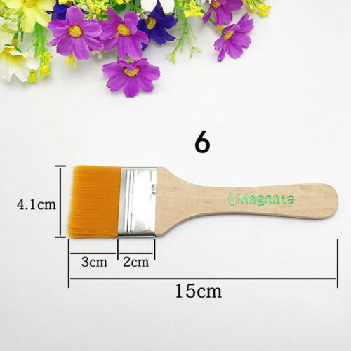 12 Size Artist Paint Brush Set Acrylic Oil Painting Drawing Supplies Tools Kit