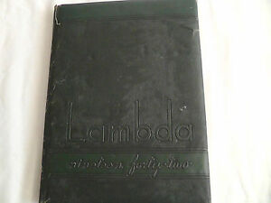 Yearbook Box #18 La Verne College, La Verne, California 1942 RARE