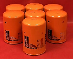 Lot of 7 Engine Oil Filter Fram PH2821A For JENSENInterceptor,   ROVER2000