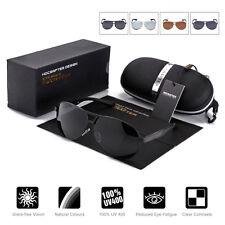 Aviator Brillen Herren Pilotenbrille UV 400 Polarisiert Sonnenbrille Sunglasses