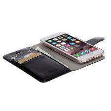 Krusell Ekero FolioWallet 2 en 1 Fino Teléfono Flip Funda para iPhone 7 - Negro