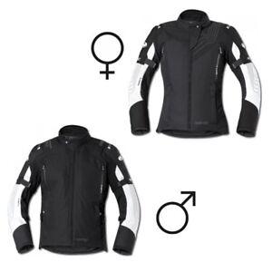 NEU-Held-Montero-GTX-Motorradjacke-schwarz-weiss-Gr-Damen-XL-passend-zur-Salerno