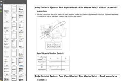 Hyundai Santa Fe 2010 workshop manual workshop manual