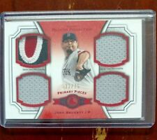 2012 Topps Museum Collection Josh Beckett Primary Pieces Quad Relic 32/75
