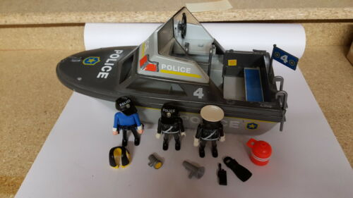 Playmobil Barco De Policía soldados Caballeros Scorpion Indios Cowboy Cannon vela de barco