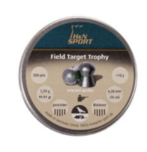 Handn Champ Target Trophy .25 Pack 200 Air Pistolet Fusil Pistolet Munitions MS