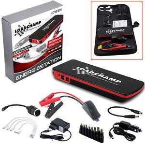 loadchamp starthilfe power station 12v powerbank 18000mah. Black Bedroom Furniture Sets. Home Design Ideas
