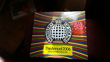 MINISTRY OF SOUND THE ANNUAL 2006-LTD ED 2CDS&DVD-PRODIGY/MYLO/JOEY NEGRO ECT