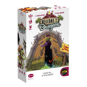 Welcome-To-The-Dungeon-Card-Mini-Game-Games-Iello-Games-IEL-51234-Micro-Family