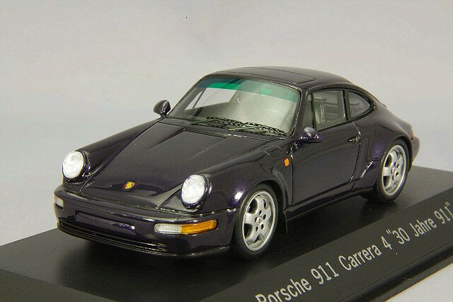 Spark 1 43 Porsche 911 Carrera 4 40th Anniversary purple Metallic from Japan