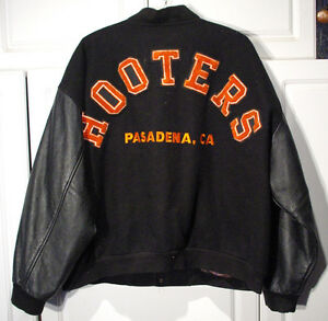 vintage hooters pasadena ca jacket s xl only one
