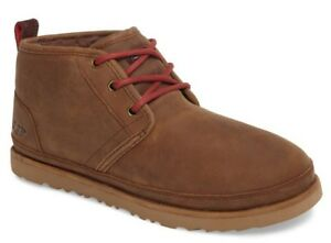 f7e467464bf Details about UGG Men's Neumel Waterproof Chukka Boot Leather in GRIZZLY  Size US 7, UK 6