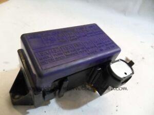 suzuki vitara 2 0 td mk1 facelift 88 98 engine bay fuse box fuses rh ebay co uk