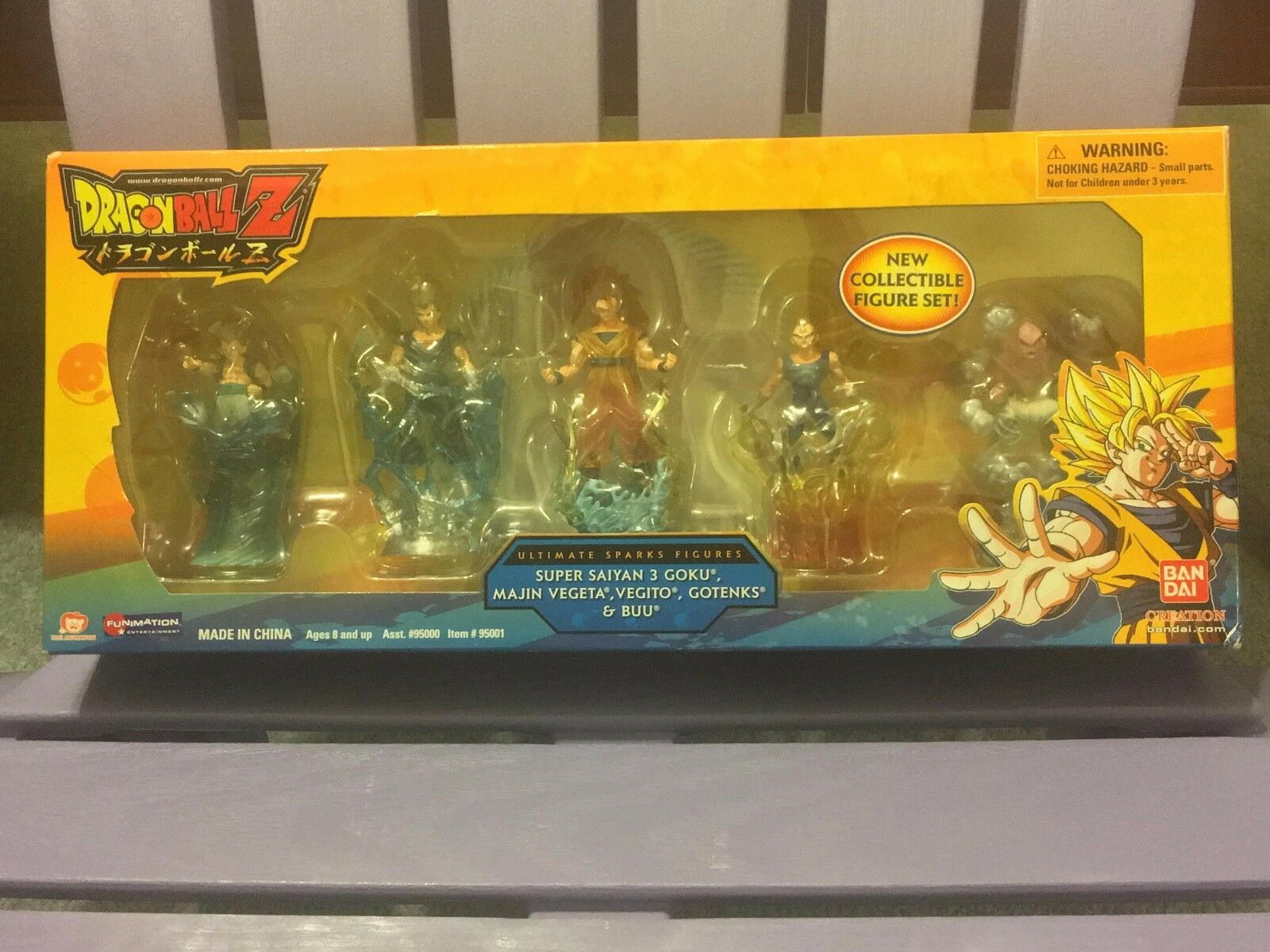 Dragon Ball Z Ultimate Sparks Figures 5 Set
