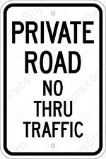 Highway Traffic Supply Maximum Occupancy Persons Aluminum sign 12X18 EGP