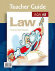 AQA AS Law: Teacher Guide by Peter Darwent, Ian Yule (Spiral bound, 2008)