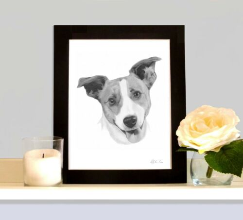 JACK RUSSELL TERRIER Picture Wall Art Print Birthday Gift Present For Dog Lover