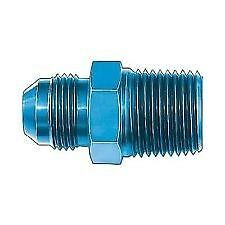 """NEW 10 AN Male to 1//2/"""" NPT Blue Male Fittings Aeroquip FBM2009 Adapter"""