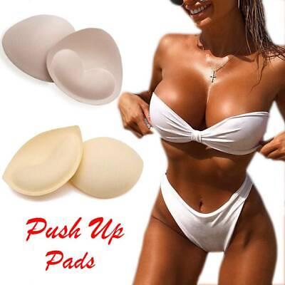 Women/'s Foam Bra Pads Insert Breast Push Up Pad Bust Enhance Bikini Swimsuit New
