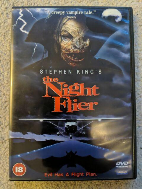 The Night Flier DVD (2000) Miguel Ferrer, Pavia (DIR) cert 18 Horror