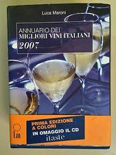 Annuario dei migliori vini italiani 2007 di Luca MaroniEd.LM 2007 Con CD
