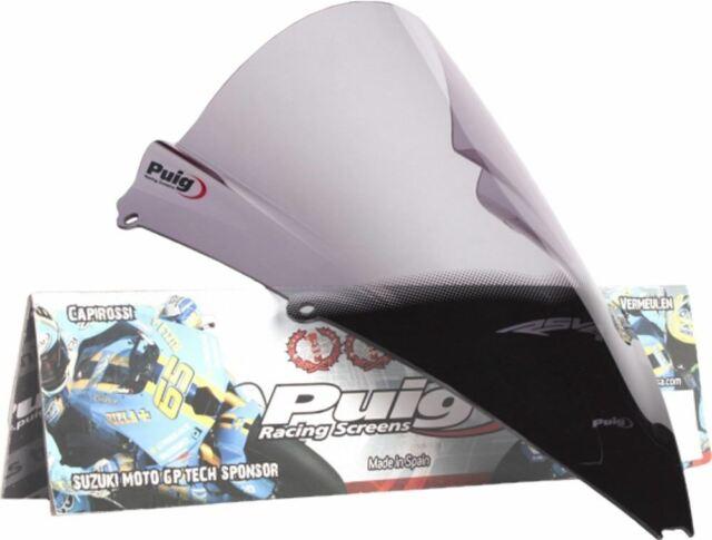 Puig Windscreen Racing Smoke Aprilia RS4-125 2012 4945H