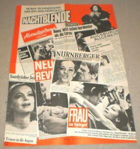 klein,PRESSE.Filmplakat  ,NACHTBLENDE,ROMY SCHNEIDER