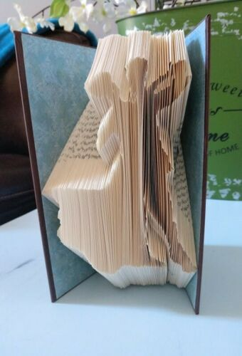 Dancing Couple//Ballroom Dancers Book Folding Pattern PATTERN ONLY