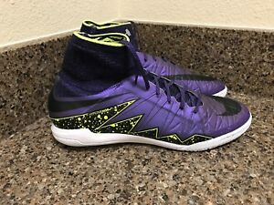 reputable site a4db3 a3a6f Image is loading NIKE-HYPERVENOMX-PROXIMO-IC-Futsal-Court-GRAPE-747486-