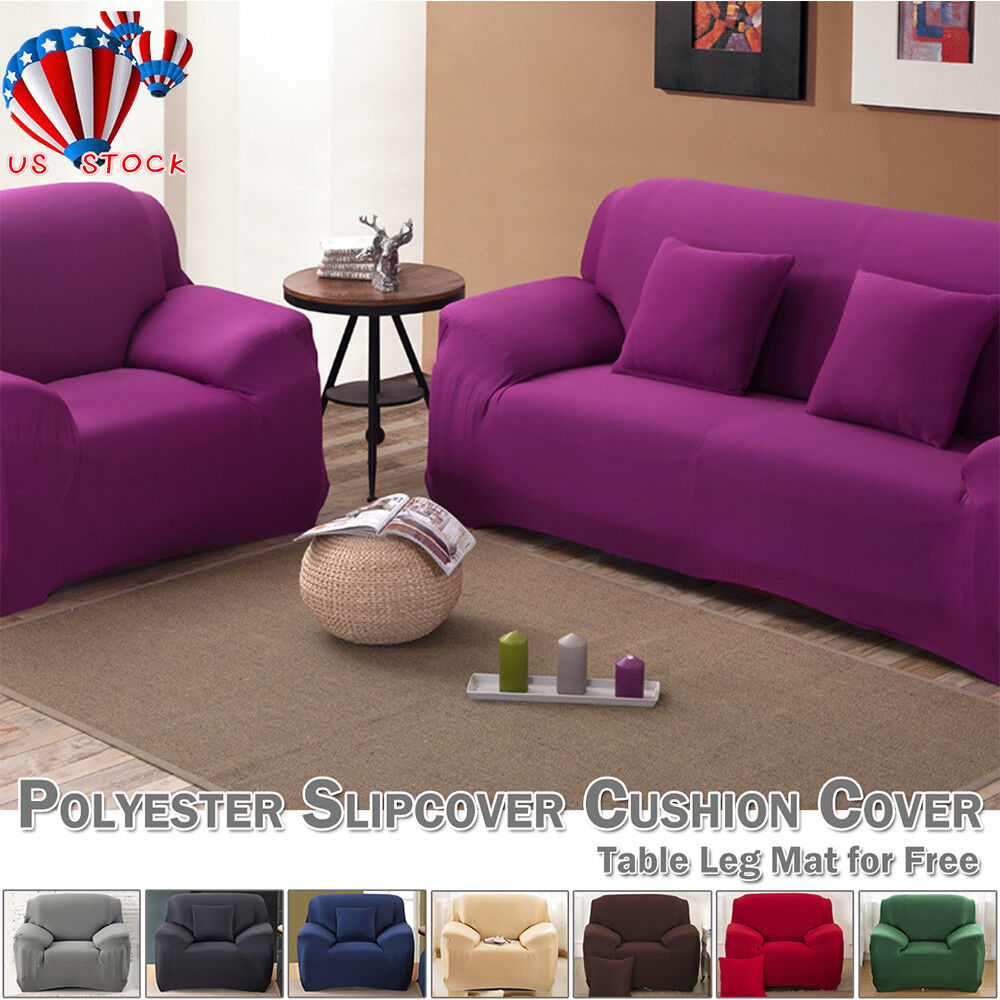 1-4 Seater Sofa Slipcover Stretch Predector Soft Couch Cover Washable Easy Fit