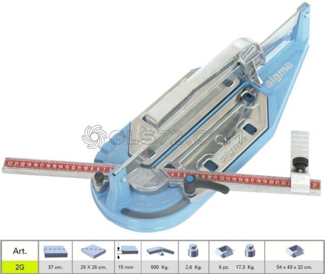 para profesional /& bricolaje Sigma Cortador de baldosas azulejos Schneider M/áquina de Cortar M/áquina cortadora de azulejos 245/cm 205/cm