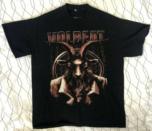 Volbeat 2015 North America Tour T-shirt Black Mens