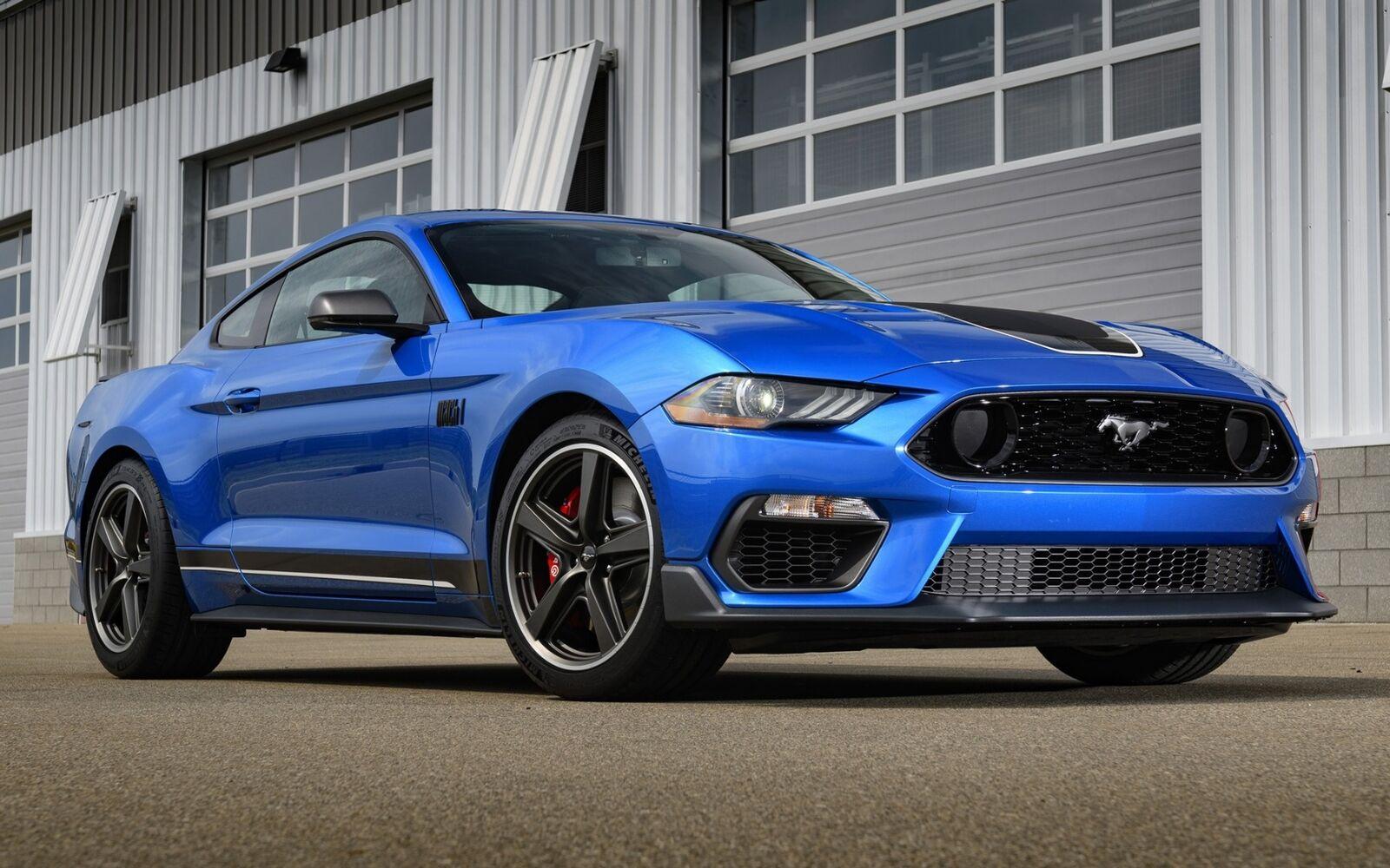 Ford Mustang 5,0 V8 GT Fastback Mach 1 aut. - billede 2