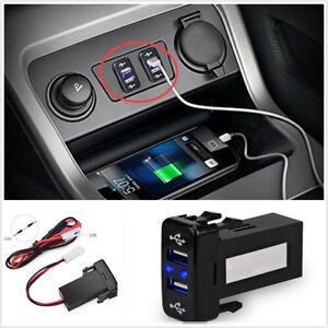 2-1A-Car-Dual-USB-2-Port-DC-12V-24V-Fast-Charger-Smart-Phone-iPad-Digital-Camera