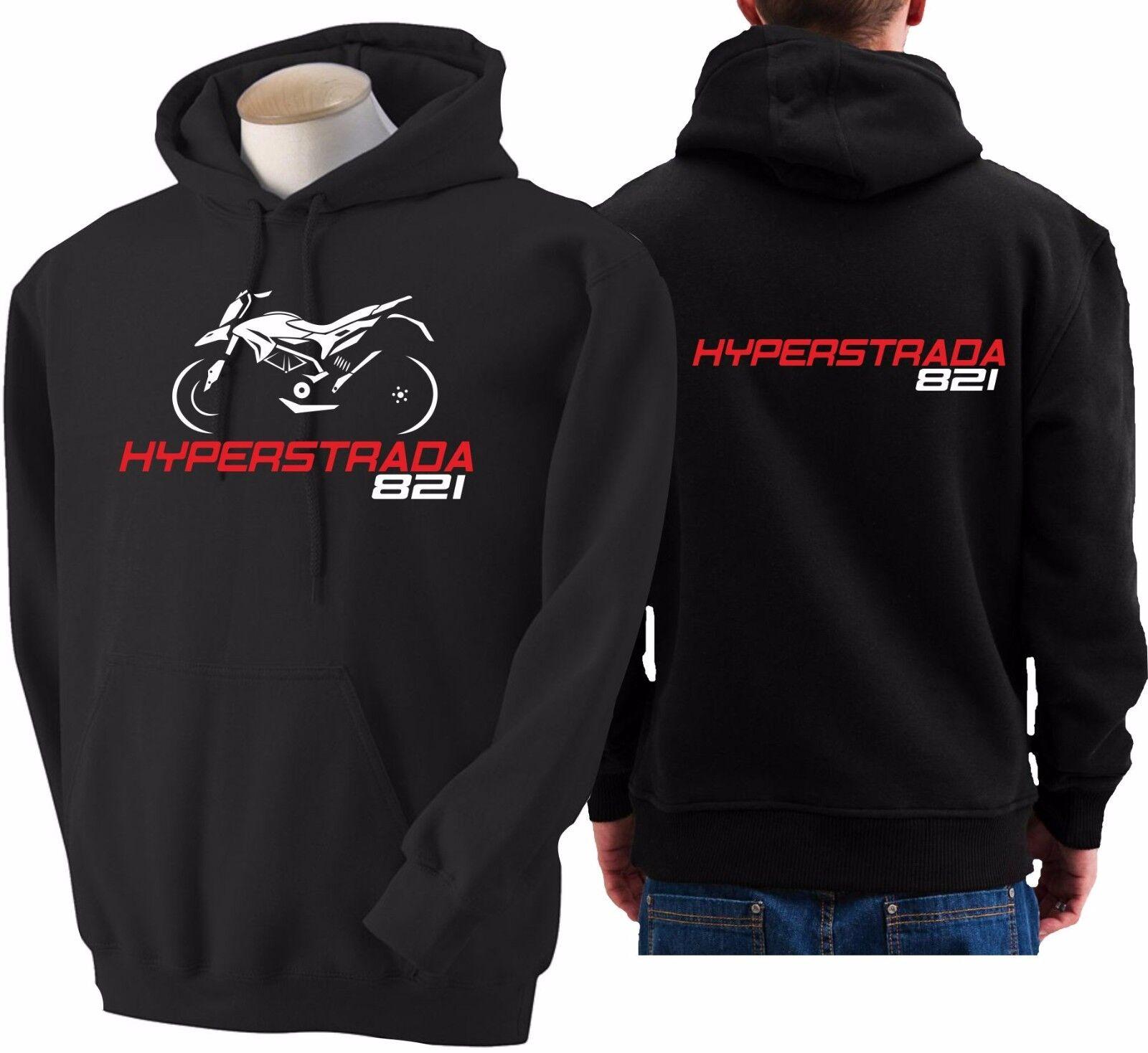 Hoodie for bike DUCATI HYPERSTRADA 821 sweatshirt hoody Sudadera moto sweater