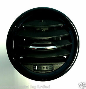 genuine vauxhall adam corsa air vent nozzle housing centre outer black new ebay. Black Bedroom Furniture Sets. Home Design Ideas