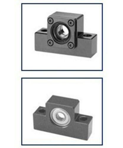 1pc EK12 and 1pc EF12 Ballscrew End Supports CNC