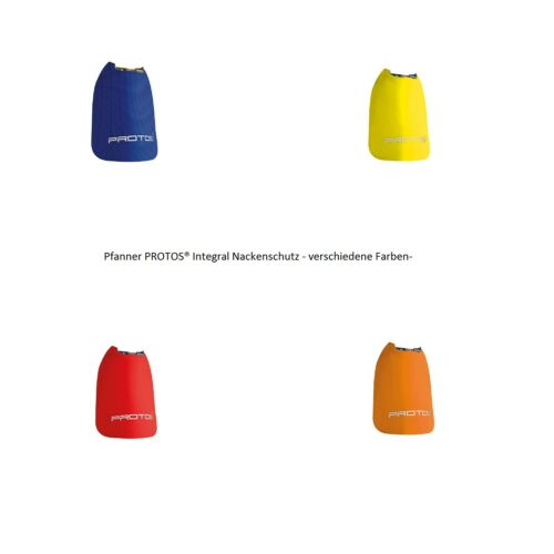 Pfanner PROTOS® Integral Nackenschutz orange-n