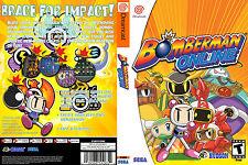 Bomberman Online CUSTOM DREAMCAST CASE (NO GAME)