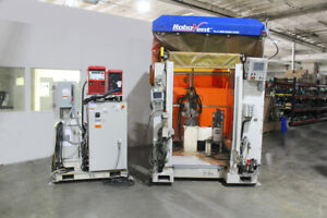 Motoman SSF-2000 Welding Robot 6 Axis NX100 Control Fronius 320A Welder