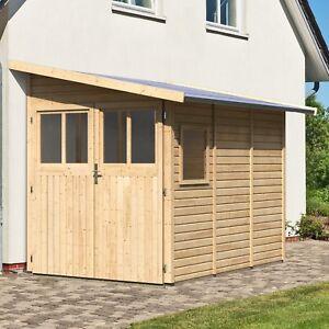 Gartenhaus Gerätehaus Schuppen Geräteschuppen Holz Hori Randers