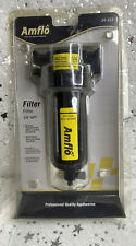 Amflo Air Compressor Airline Inline Particlewater Filter 24 313 38 Npt New