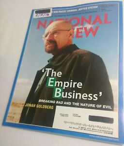 National-Review-Magazine-8-19-2013-Breaking-Bad-Walter-White-Near-Mint-issue