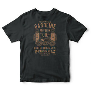 Gasoline-Motor-Oil-Vintage-Biker-T-shirt-Motorcycle-Motors-Spirit-t-shirt-tee