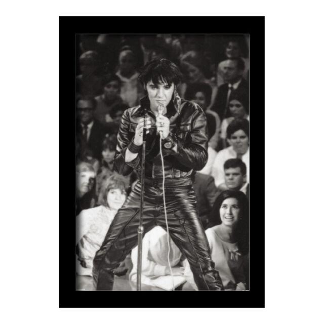 ELVIS PRESLEY 1968 COMEBACK SPECIAL 13x19 FRAMED GELCOAT POSTER MUSIC LEGEND NEW