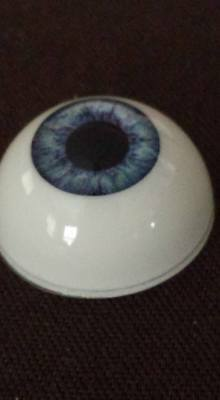 Pabol Doll Eyes 24 MM WE09 Hazel  Reborn   Acrylic Half Round,FAST SHIPPING