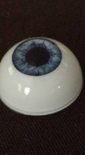 20 MM Pabol Sky Blue GR09 Acrylic Half Round Doll Eyes FAST SHIPPING!