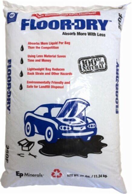 De Premium Oil Absorbent Diatomaceous Earth 25lb Poly Bag 9825 for sale online