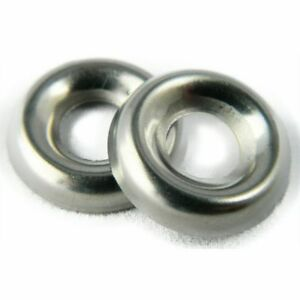 Stainless-Steel-Cup-Washer-Finishing-Countersunk-8-Qty-25